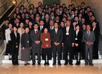 2009班会議集合写真